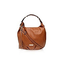 Carvela - Tan 'Dee' studded hobo bag