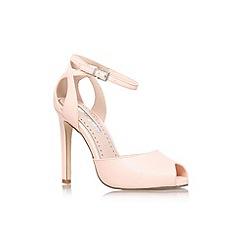 Miss KG - Nude 'Eddison' high heel strappy sandal