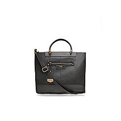 Carvela - Grey mixed 'Denise zip pocket' bag