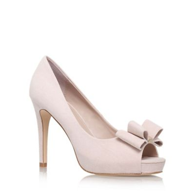 Miss KG Nude Carolina high heel court shoe