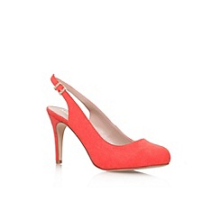 Miss KG - Orange 'Amelie' high heel slingback court shoe