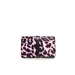 Miss KG - Pink 'Harlan' clutch bag
