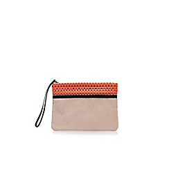 Miss KG - Nude 'Hollie' clutch bag
