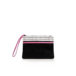 Miss KG - Pink comb 'Hollie' clutch bag