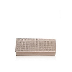 Miss KG - Nude 'Hazel' clutch bag