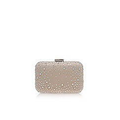 Miss KG - Nude 'Hetty' clutch bag