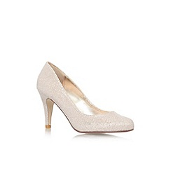 Carvela - Gold 'Gail' high heel court shoe