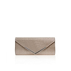 Carvela - Silver 'Daphne' clutch bag