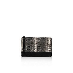 Carvela - Blk/white 'Disha' clutch bag