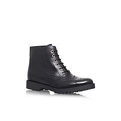 Carvela - Black 'Slowly' Leather lace up