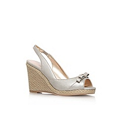 Carvela - Gold 'Suzie' high wedge heel shoe