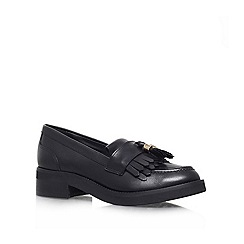 Carvela - Black 'Letter' Flat slip on loafer