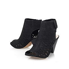 Vince Camuto - Black 'estell' mid heel shoe boot