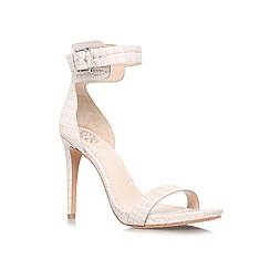 Vince Camuto - Nude 'FARELLA' High heeled ankle strap court shoe