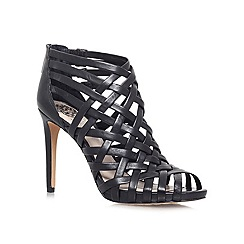 Vince Camuto - Black 'Farica' Leather high heel sandal