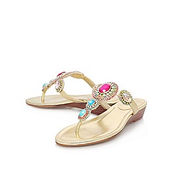 Vince Camuto - Mult/other 'ilina' flat leather toe post sandal