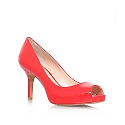 Vince Camuto - Red 'Kiley' High heeled peep toe court