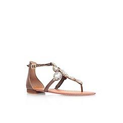 Vince Camuto - Bronze 'Manelle' flat strappy sandal