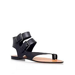 Vince Camuto - Black 'MOVERZ' Flat ankle strap sandal