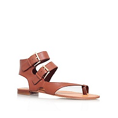 Vince Camuto - Brown 'MOVERZ' Flat ankle strap sandal