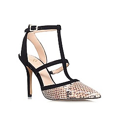 Vince Camuto - Blk/other 'starina' high heeled court shoe
