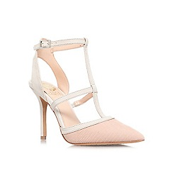 Vince Camuto - Cream comb 'starina' high heeled court shoe