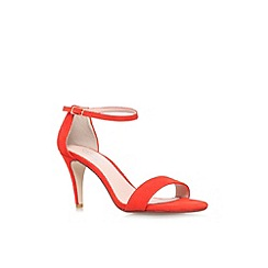 Carvela - Orange 'Kiwi' high heel strappy sandal