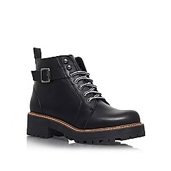 KG Kurt Geiger - Black 'Sibera' Lace-up ankle boots