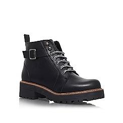 KG Kurt Geiger - Black 'Sibera' Lace-up ankle boots