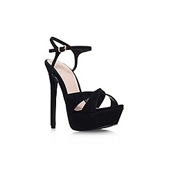 KG Kurt Geiger - Black 'Heat' high heel sandal