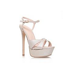 KG Kurt Geiger - Champagne 'Heat' high heel sandal