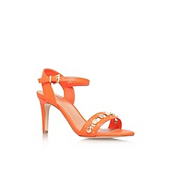 Miss KG - Orange 'Erica' high heel sandal