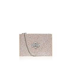 Miss KG - Silver 'Helena' clutch bag