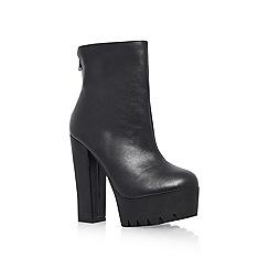 Miss KG - Black 'Stampede' Ankle Boots