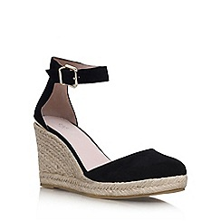 Carvela - Black 'Kold' high wedge heel shoe