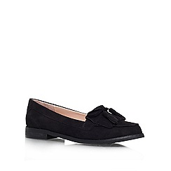 Carvela - Black 'Malik' Flat slip on loafer