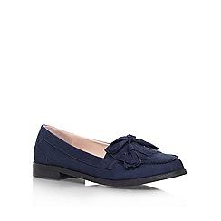 Carvela - Blue 'Malik' Flat slip on loafer