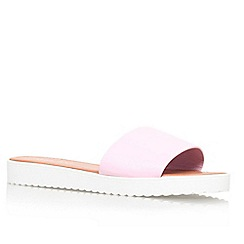Miss KG - Pale pink 'Didi' flat slip on sandal