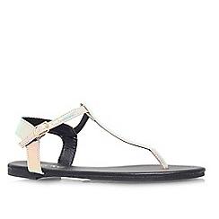 Miss KG - Multi 'Rue' flat sandal