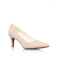 Anne Klein - Tan 'Barb6' mid heel court shoe