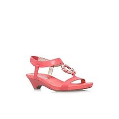 Anne Klein - Red 'Tycho2' low heel sandal