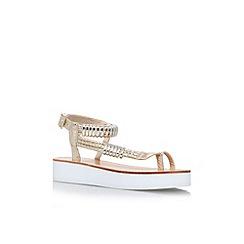 Carvela - Gold 'Klip' sandal