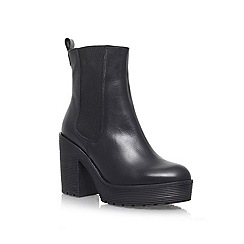 Carvela - Black 'Sooty' Leather boot