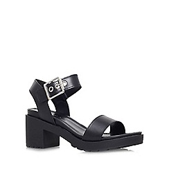 Carvela - Black 'Karina' low block heel sandal