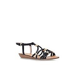 Carvela - Black 'Kazoo' flat strappy sandal