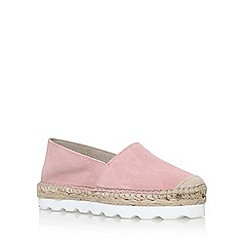 Carvela - Pink 'Lido' flat slip on sneakers