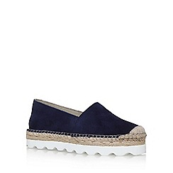 Carvela - Blue 'Lido' flat espadrille sneaker