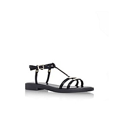 Carvela - Black 'Kinetical'  flat sandal