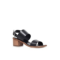 Carvela - Black 'Kimberley' low heel sandal