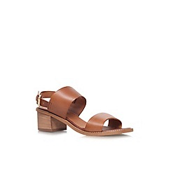 Carvela - Tan 'Kimberley' low heel sandal